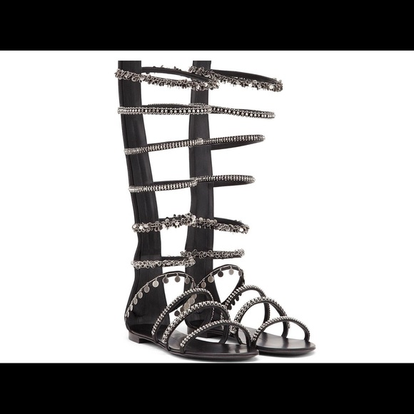 0f4c4bd612a0 To DIE For Giuseppe Zanotti Gladiator Sandals HOT